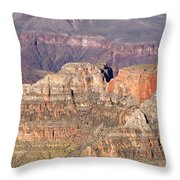 Grand Canyon View Throw Pillow