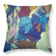 Granite Lm Throw Pillow