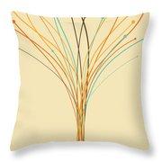 Graphic Tree Throw Pillow