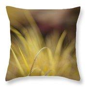 Grass Abstract 2 Throw Pillow