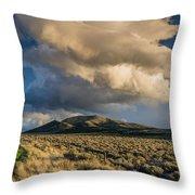 Great Basin Cloud Throw Pillow