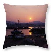 Greystones, Co Wicklow, Ireland Throw Pillow