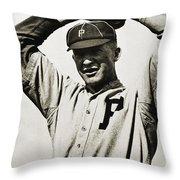 Grover Cleveland Alexander Throw Pillow