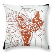 Guardian Angel - Tile Throw Pillow