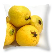 Guava Fruits Throw Pillow