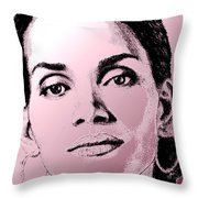 Halle Berry In 2008 Throw Pillow