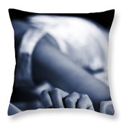 Hand Throw Pillow by Joana Kruse