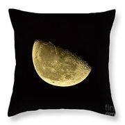 Handsome Half Moon Throw Pillow