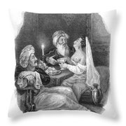 Harem Throw Pillow