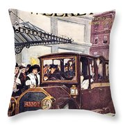 Harpers Weekly, 1913 Throw Pillow