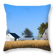 Harvest Time Throw Pillow