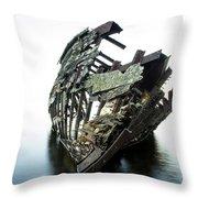 Harvey Neelon Shipwreck So They Say... Throw Pillow