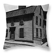 Hawthornes Birthplace Throw Pillow