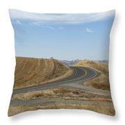 Heading Inland Throw Pillow
