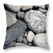 Healing Stones Throw Pillow