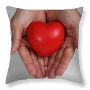 Heart Disease Prevention Throw Pillow