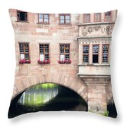 Heilig Geist Spital Throw Pillow