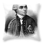 Henry Clinton (1738-1795) Throw Pillow