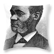 Henry Highland Garnet Throw Pillow by Granger