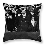Herbert Hoover (1874-1964) Throw Pillow