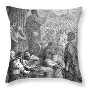 Herodotus (c484-c425 B.c.) Throw Pillow