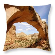 Hickman Bridge Throw Pillow