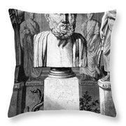 Hippocrates, Greek Physician, Father Throw Pillow