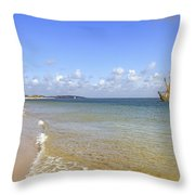 Hoernum - Sylt Throw Pillow by Joana Kruse