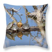 Hog Pile Throw Pillow