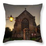 Holy Trinity Church Bradford On Avon England Throw Pillow