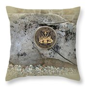 Honoring The Us Military Services - Army Throw Pillow