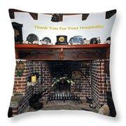 Hospitality Throw Pillow