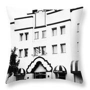 Hotel Laguna Throw Pillow