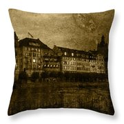 Hotel Schiff Throw Pillow by Ron Jones