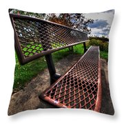 How Long Must One Wait Throw Pillow