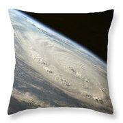 Hurricane Felix Throw Pillow