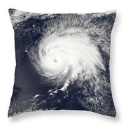Hurricane Gordon Throw Pillow