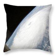 Hurricane Helene Throw Pillow