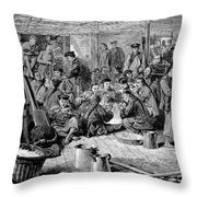 Immigrants: Chinese, 1876 Throw Pillow by Granger