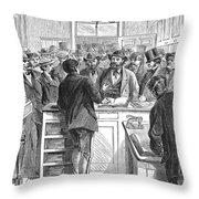 Immigration: Citizenship Throw Pillow