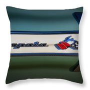 Impala Brightwork Throw Pillow by Douglas Pittman