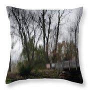 Impression Of Winter Throw Pillow