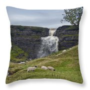 In The Yorkshire Dales Throw Pillow