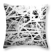 Inconsistent Love Throw Pillow