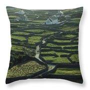 Inisheer, Aran Islands, Co Galway Throw Pillow