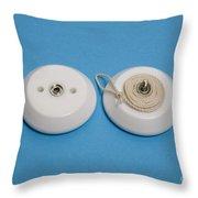 Inside A Yo-yo Throw Pillow