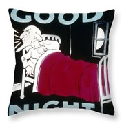 Intermission Slide Throw Pillow