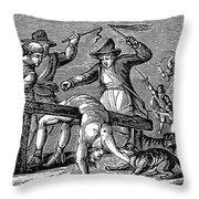 Ireland: Cruelties, C1600 Throw Pillow by Granger