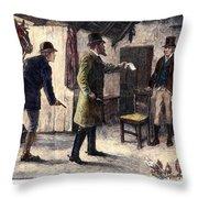 Irish Land League, 1881 Throw Pillow