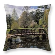 Irish National Botanic Gardens, Dublin Throw Pillow